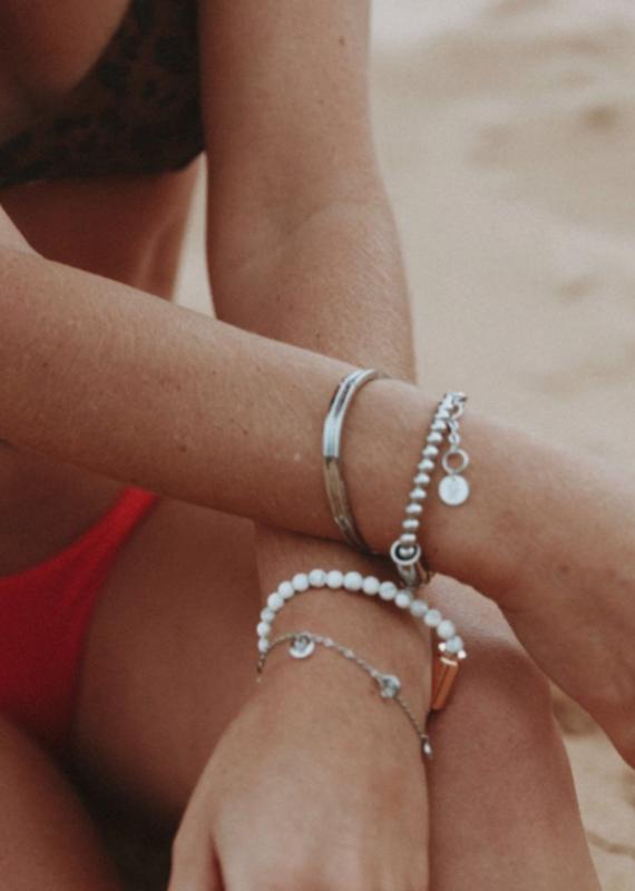 Brass & Unity Multi Charm Bracelet