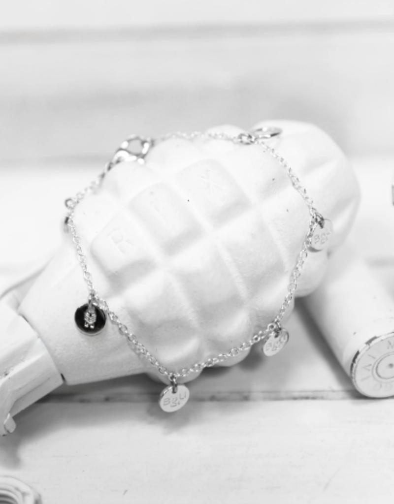 Brass & Unity Brass & Unity Multi Charm Bracelet