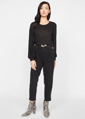 Sanctuary All Out Pleated Knit top