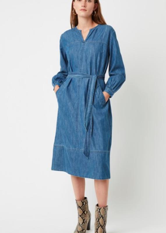 Great Plains Malvern Denim Belted dress