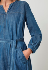 Great Plains Great Plains Malvern Denim Belted dress