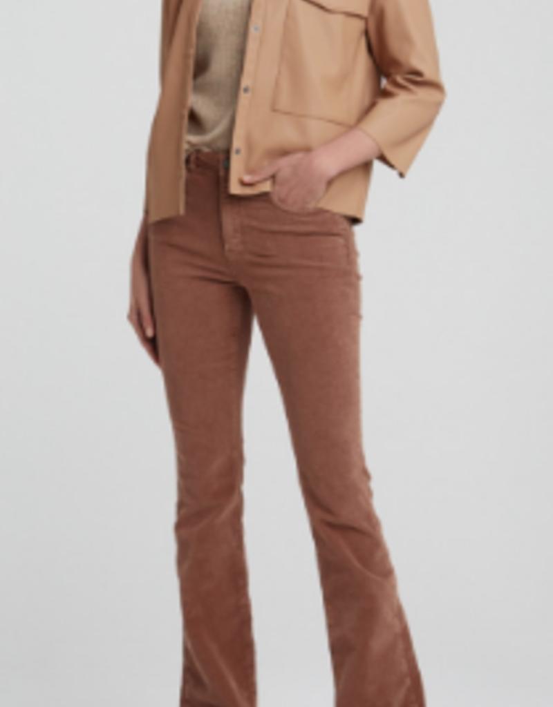 YaYa Yaya Faux leather shirt with pockets