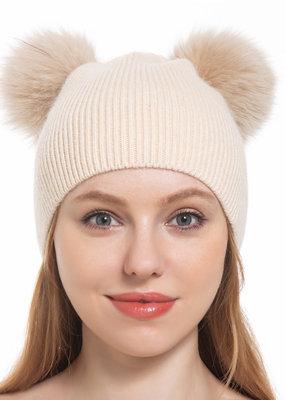 Pathz Double Pom Fox Hat