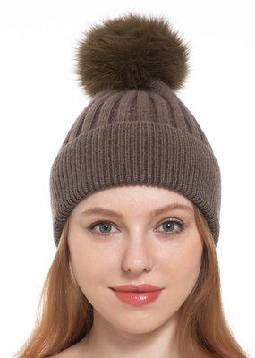 Pathz Single Fox Pom Hat