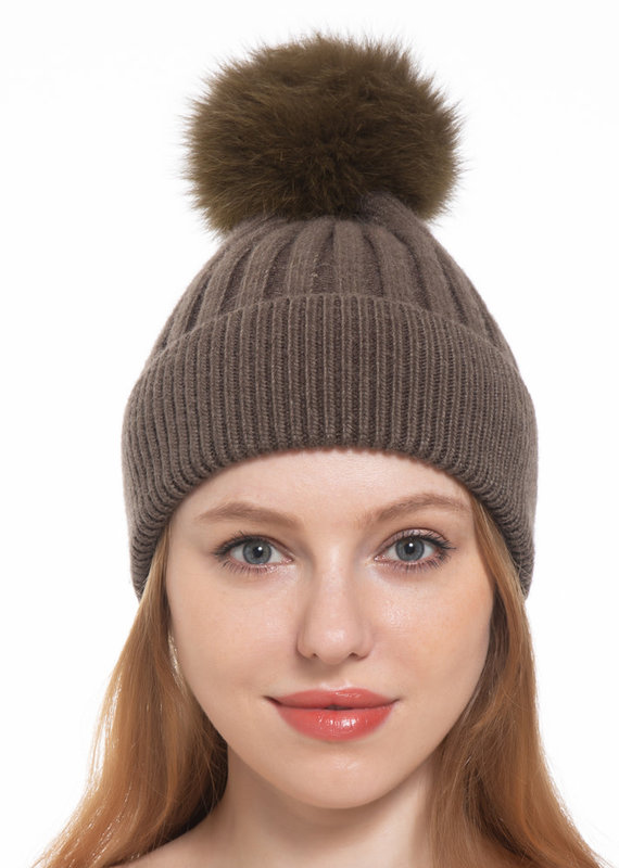 Pathz Single Fox Pom Hat