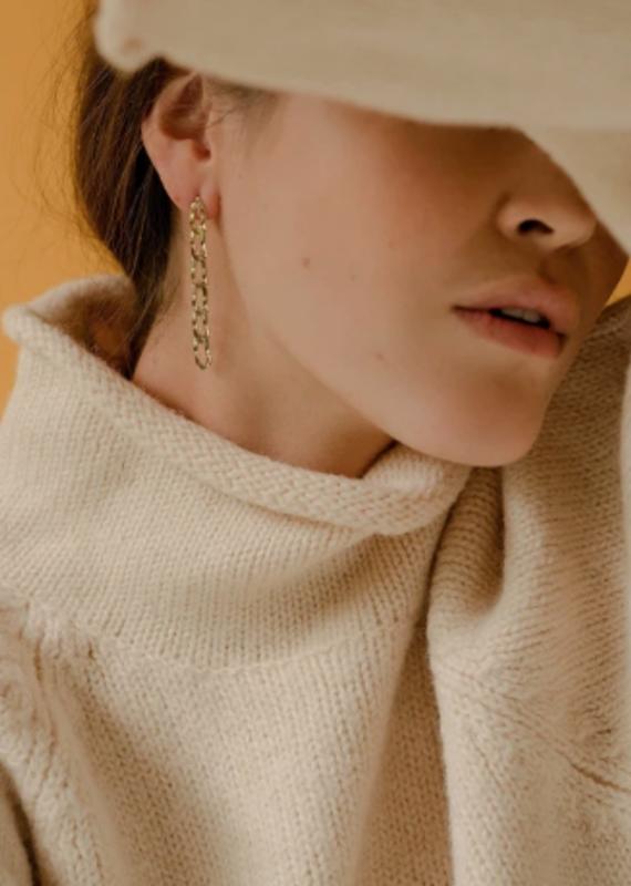 Lover's Tempo Chain Reaction Earrings