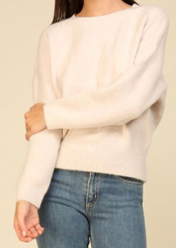 Lumiere Solid knit sweater