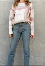 Lumiere Lumiere knit striped sweater