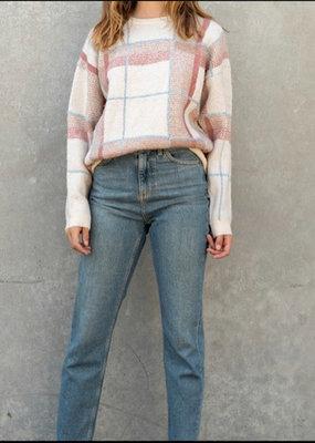 Lumiere Knit striped sweater