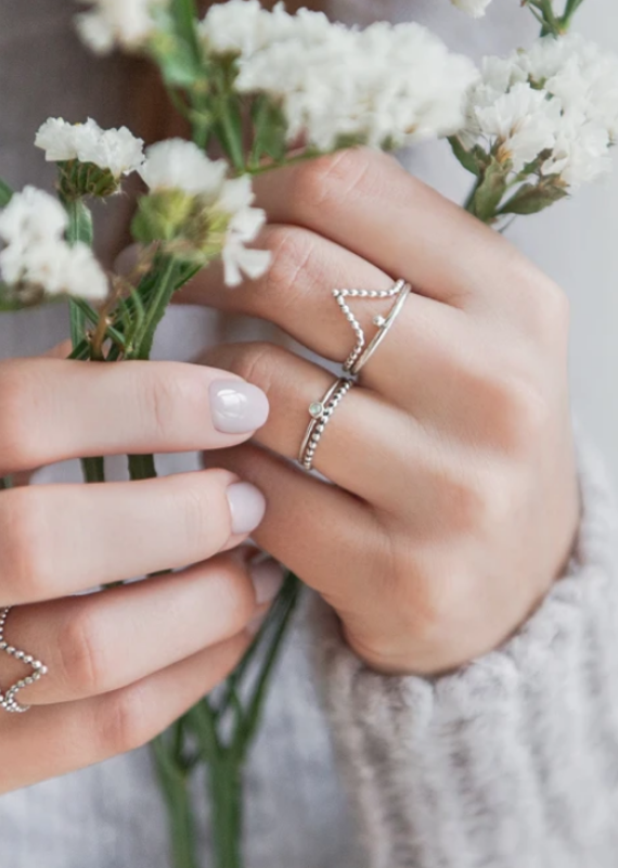 WellDunn Dainty ring