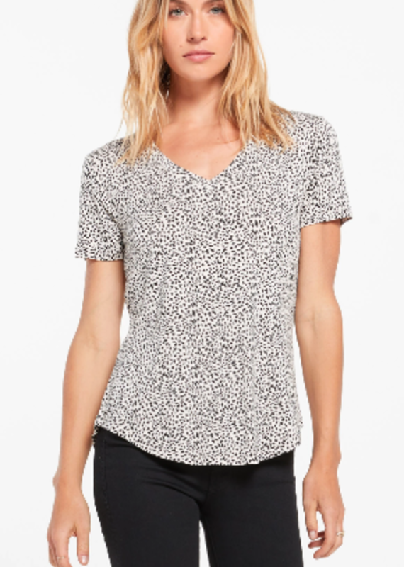 Z Supply Lipa Mini Leopard Tee