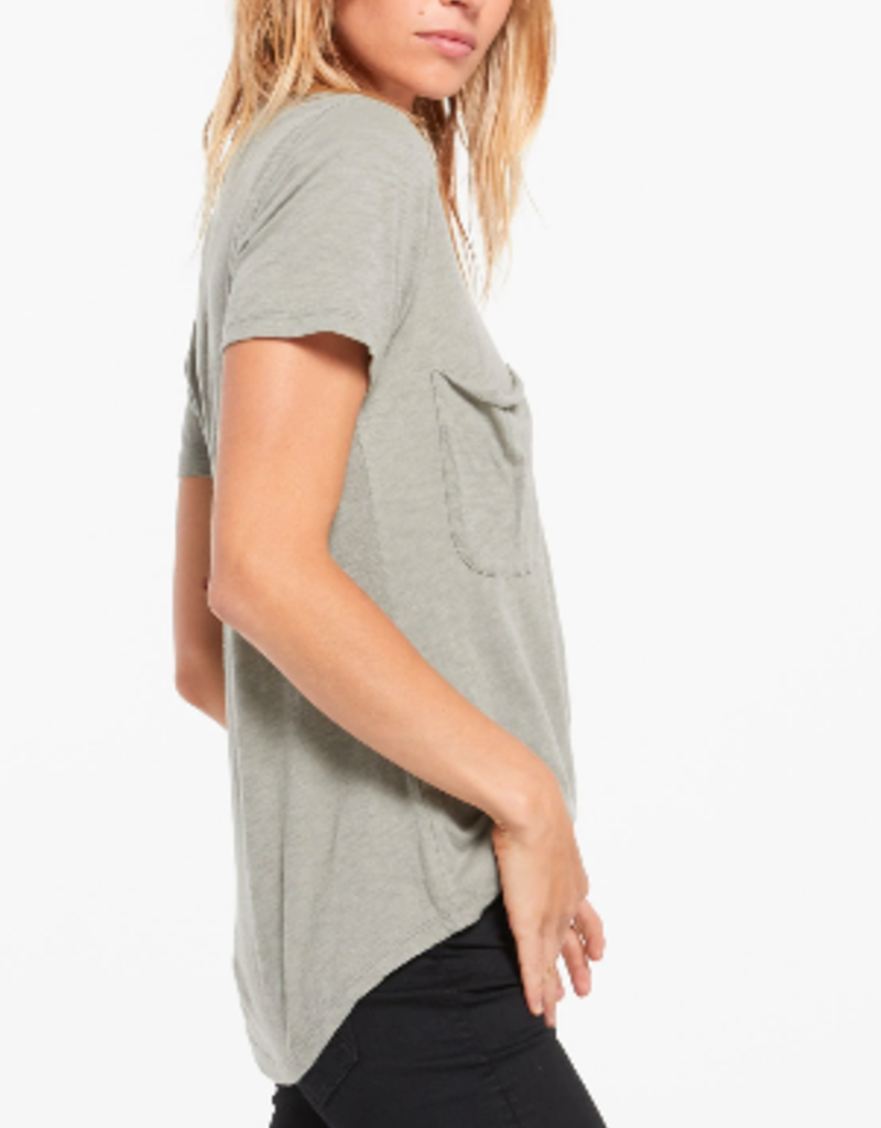 Z Supply Z Supply Cotton slub pocket tee
