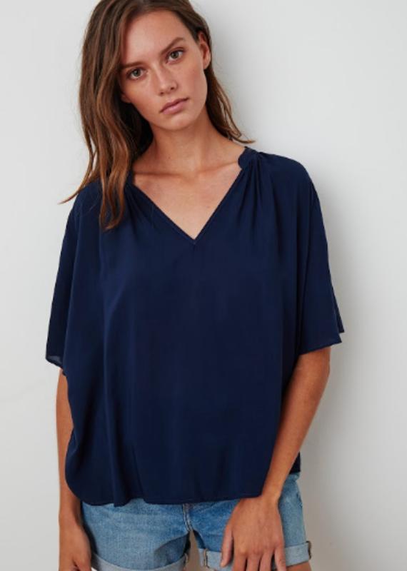 Velvet Jaycee Challis vneck blouse