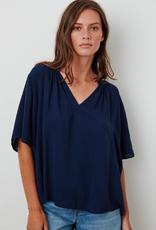 Velvet Velvet Jaycee Challis vneck blouse