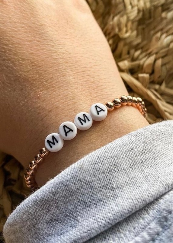 Mama Stackable bracelets