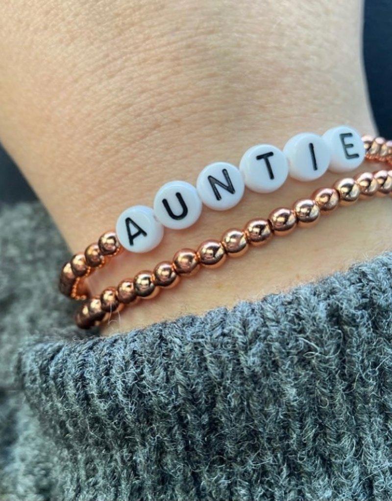 Auntie Stackable bracelet