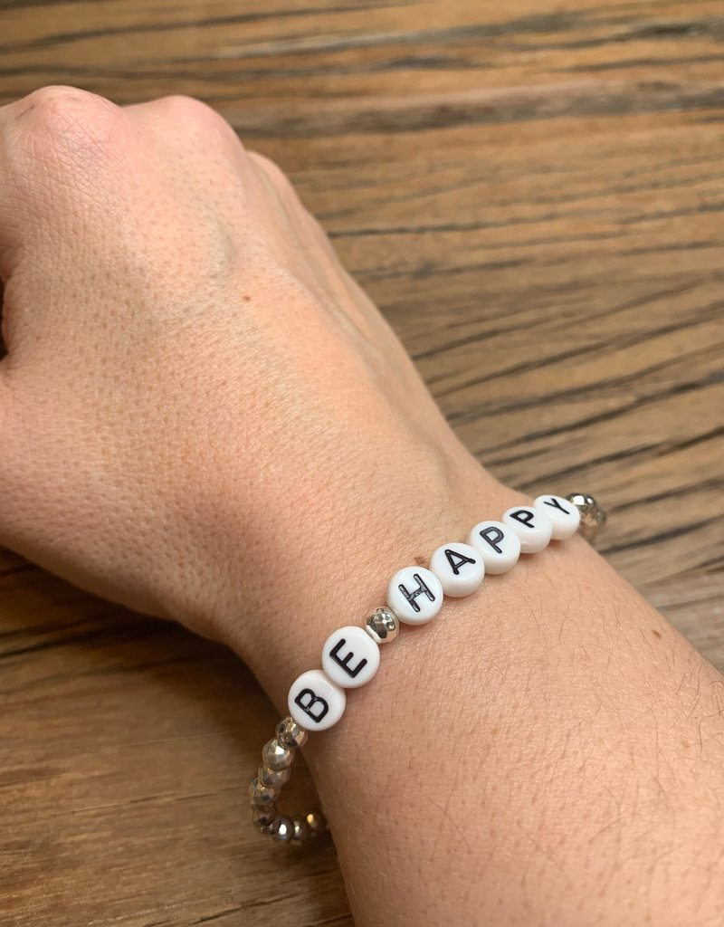 Be Happy Stackable bracelet