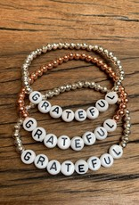 Grateful Stackable bracelet