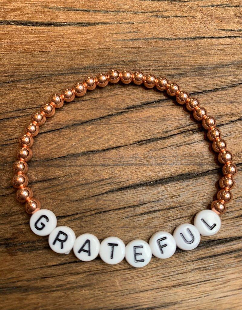 Grateful Stackable bracelet