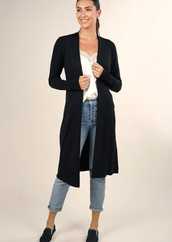 Lovestitch Mid Length Duster Cardigan