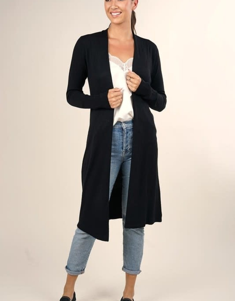 Lovestitch Lovestitch Mid Length Duster Cardigan