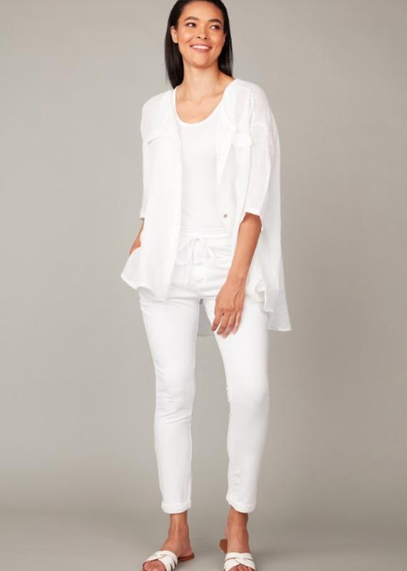 Pistache Breezy blouse