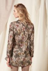 Nile Nile Print tunic blouse