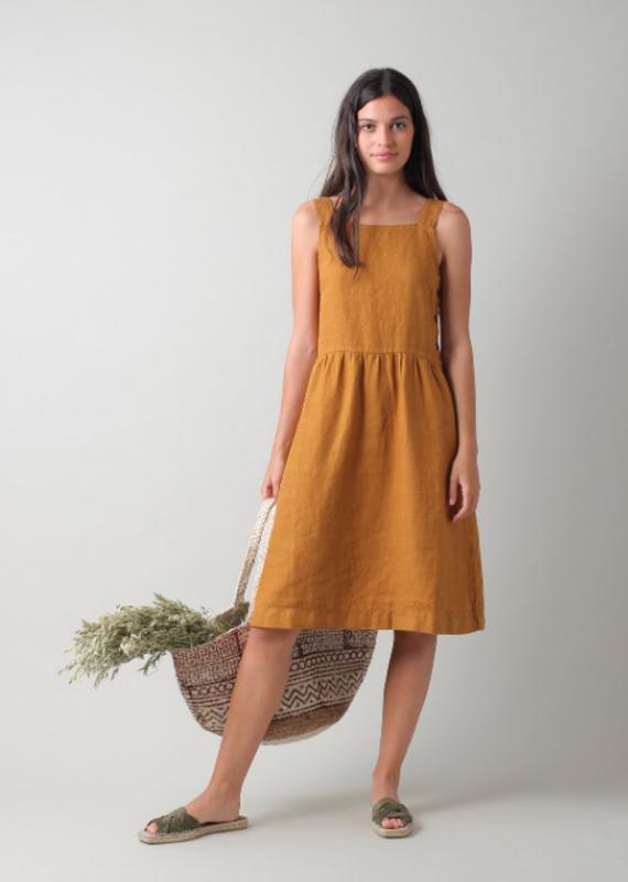 Indi & Cold Linen Tank dress