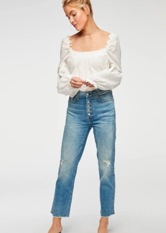 7 For All Mankind HW Crop Straight