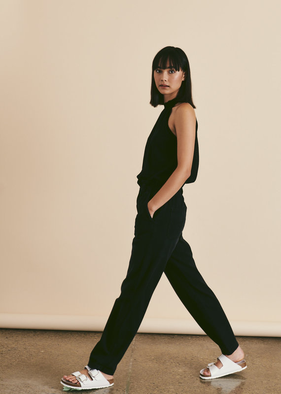 Line Leela halter knit top