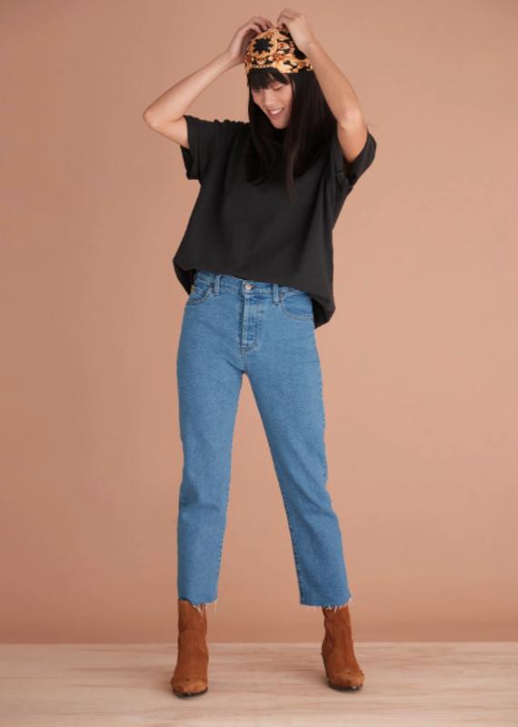 Yoga Jeans Chloe Crop Classic Slim Coco