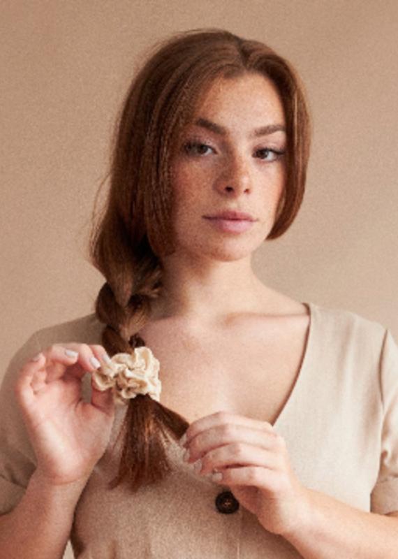 Lover's Tempo Mini Sunday Cotton Scrunchie