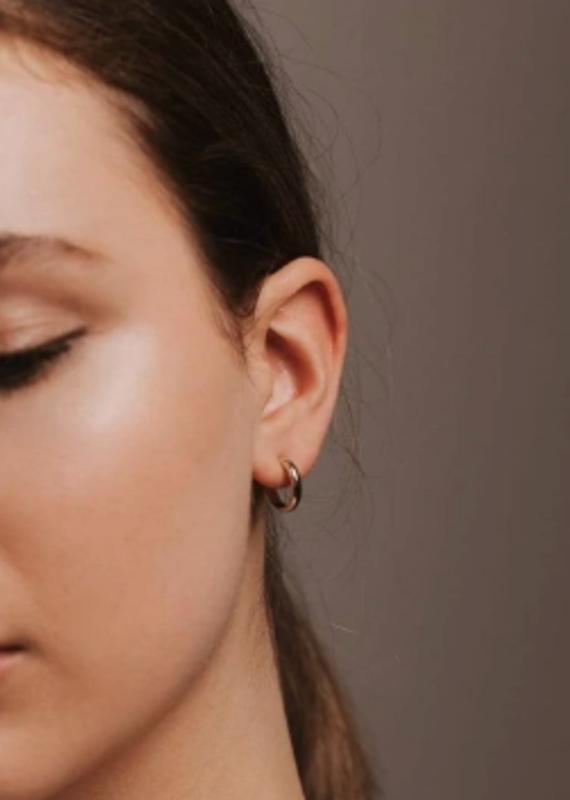 Lover's Tempo Silvia Hoop Earrings