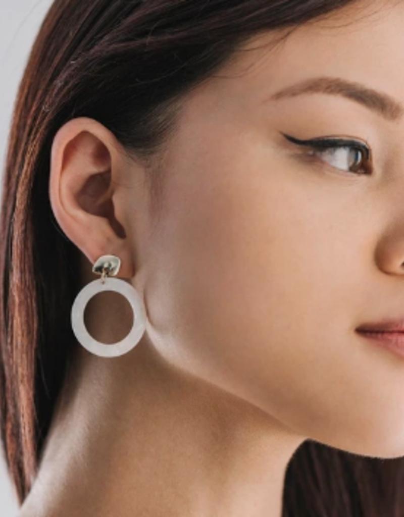Lover's Tempo Lover's Tempo Odessa Hoop Earrings