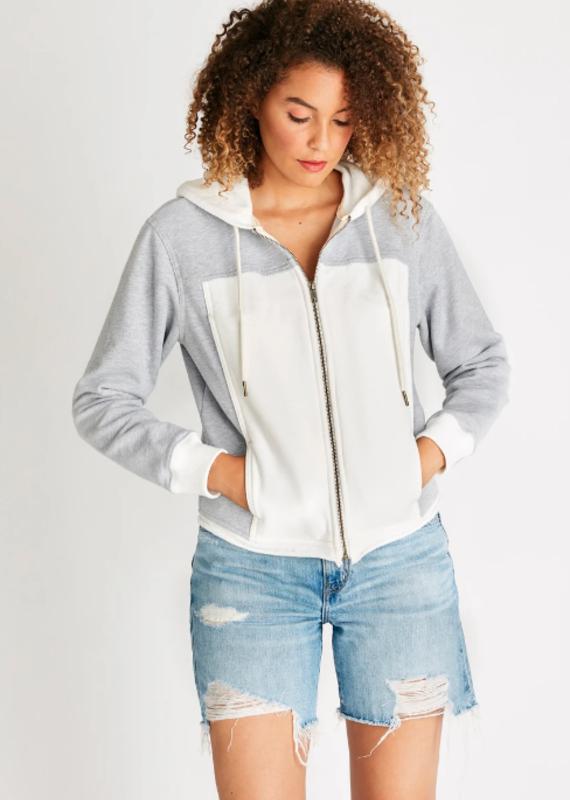 Etica Jenna zip hoodie