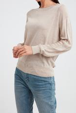 YaYa Yaya Silk blend sweater with knitted panels