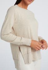 YaYa Yaya Brushed sweater with slits