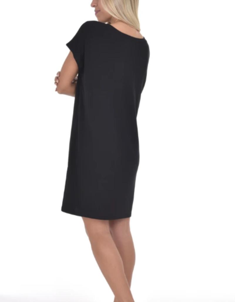 Paper Label Paper Label Jasmine rib dress