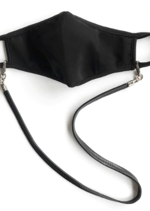 Brave Eara mask chain/leather