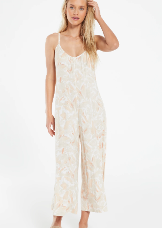 Z Supply SummerLand Floral Jumpsuit