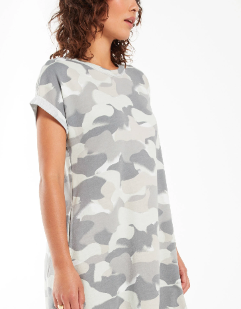Z Supply Z Supply Agnes Painted Camo terry dress
