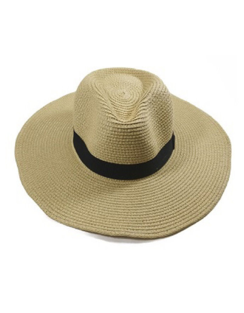 Facinie Facinie Casual Panama Toyo hat
