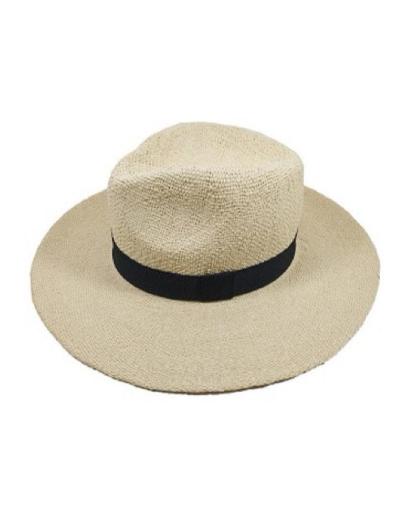 Facinie Facinie Panama weave hat