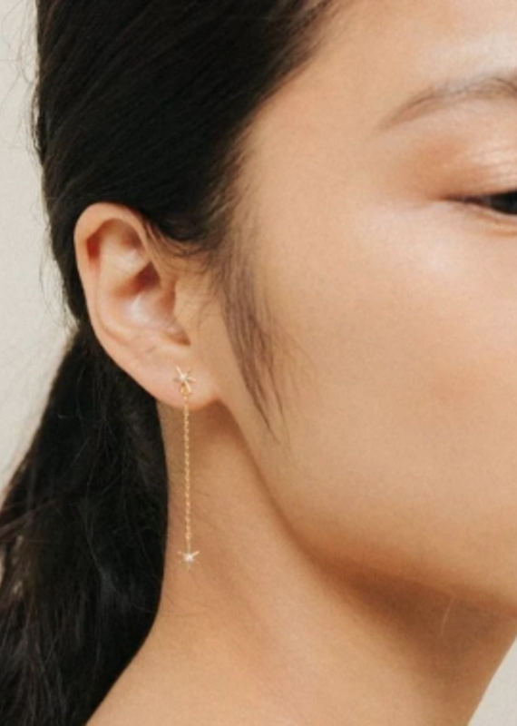 Lover's Tempo Glimmer Drop Earrings