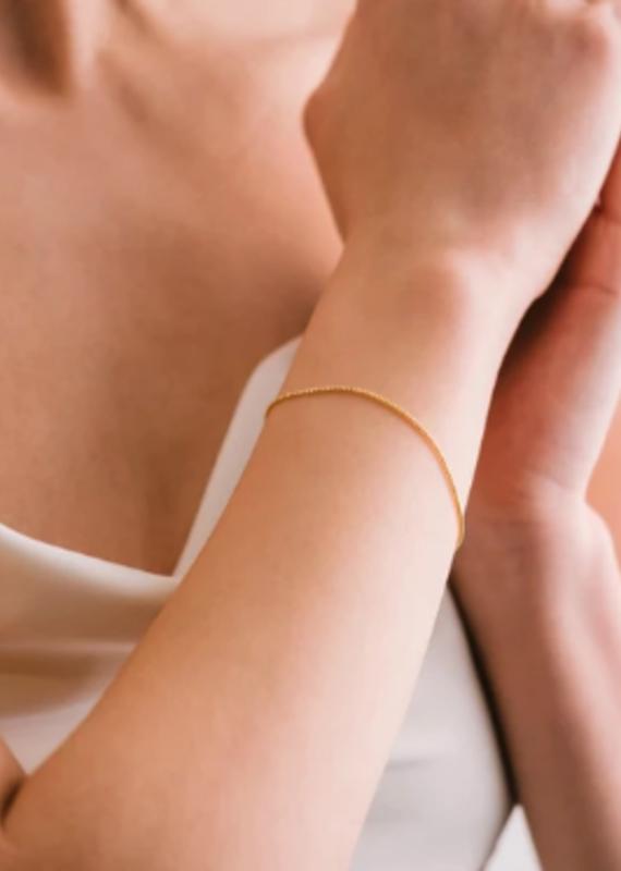 Lover's Tempo Box Chain Bracelet
