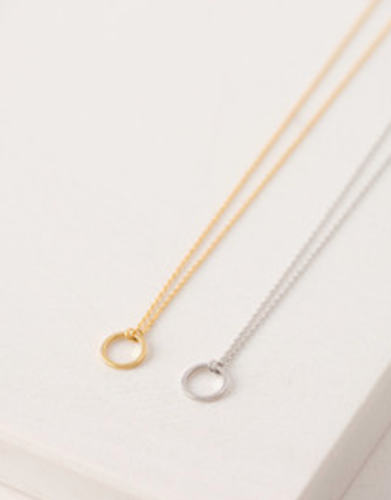 Lover's Tempo Lover's Tempo Sol  Hoop Necklace