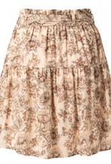 YaYa Yaya Viscose printed mini skirt