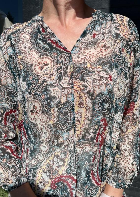 Nile Paisly tunic