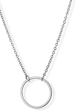JJ+RR JJ+RR Eternity Eternity Open Circle Necklace