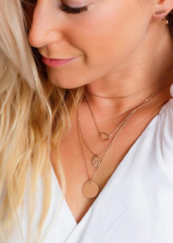 JJ+RR Simple Heart Necklace